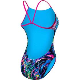 TYR Pink Penello Cutoutfit - Bañador Mujer - Multicolor